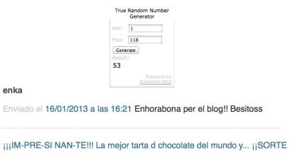 guanyadora sorteig blog 100 seguidors còpia