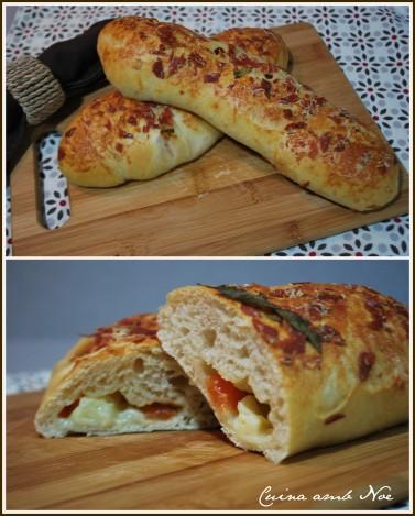 pa farçit amb tomaca y formatge