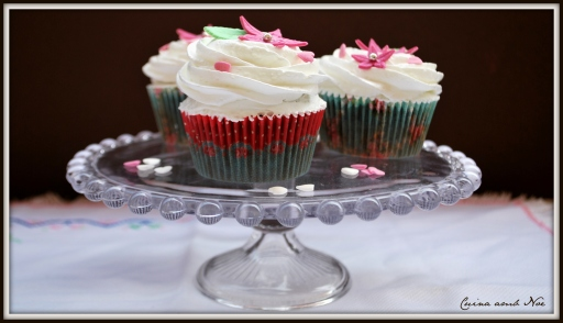 Cupcakes choco y merengue