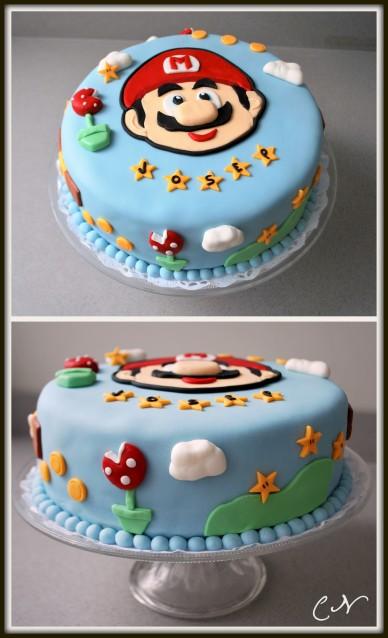 Tarta Mario Bros per a Josep
