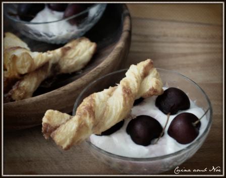 crema mascarpone y cerezas 2
