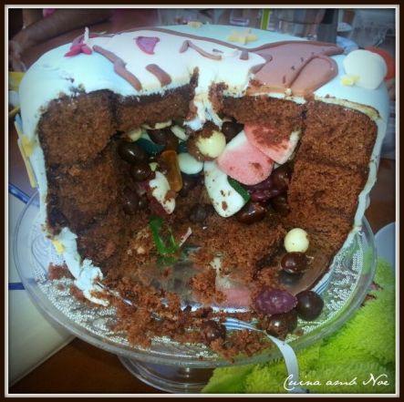 Toy stroy, corte tarta