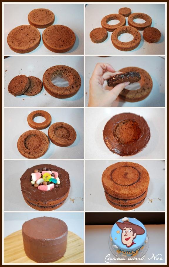 tutorial tarta piñata