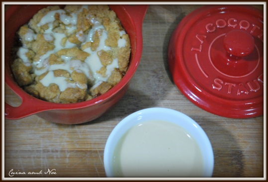 Apple crumble 3