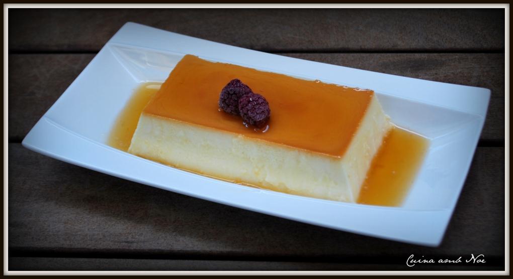 Flan formatge 4