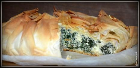 Pastel de espinacas y queso 3