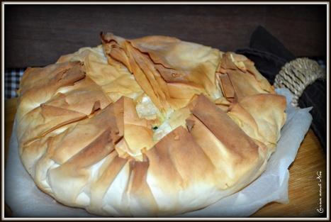 Pastel de espinacas y queso 4