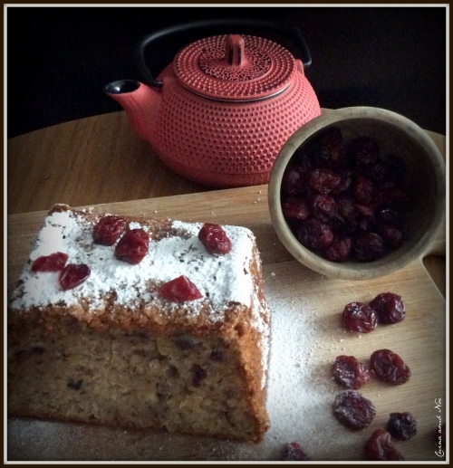 Cranberries Banana Bread 2