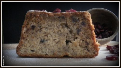 Cranberries Banana Bread 3