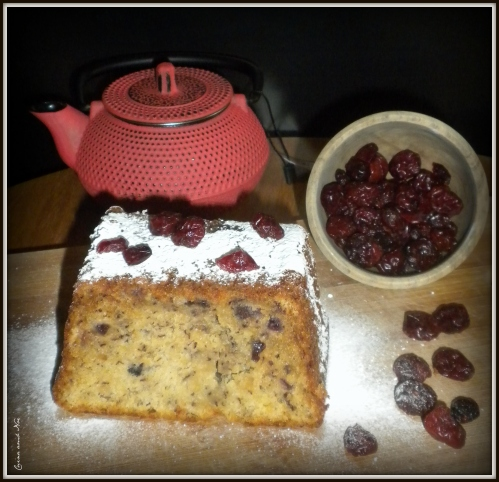 Cranberries Banana Bread 5