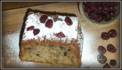 Cranberries Banana Bread 6
