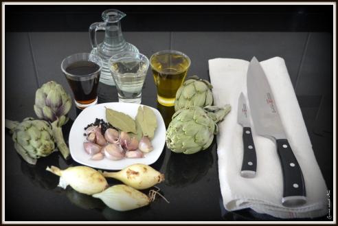 Alcachofas en escabeche 2